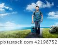 사람, 여행, 남성 42198752