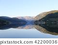 fjord, hardangerfjord, blue 42200036