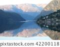 fjord, hardangerfjord, blue 42200118