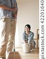청소를하는 커플 42201640