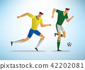 Illustration of soccer players 08 42202081