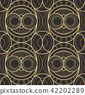 Vector modern geometric tiles pattern. 42202289