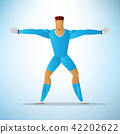 Illustration of football goalkeeper player 09 42202622