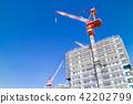 公寓/建築的大型建築工地 42202799