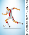 Illustration of football player 15 42202968