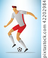 Illustration of football player 29 42202984