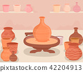 Pottery Making Workshop Illustration 42204913