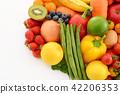 新鮮蔬菜和水果 42206353