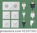 vector, plug, power 42207301