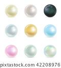 pearl, vector, circle 42208976