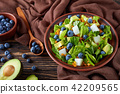 close-up of Mexican Salad, top view 42209565