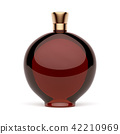Red alcohol bottle 42210969
