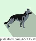 dog shepherd flat 42211539