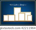 blank, frame, golden 42211964