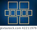 blank, frame, golden 42211976