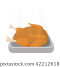 turkey roasted cartoon 42212618