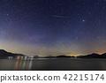 流星 星圖 夜空 42215174