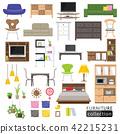 室內家具圖標 42215231