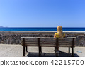 bench, young, seafront 42215700