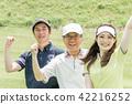 골프, 여성, 여자 42216252