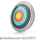 Archery target 42217077