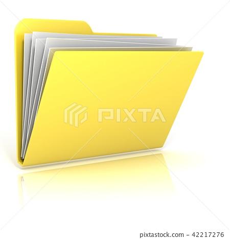 Computer folder icon 42217276