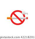 cigarette, tobacco, sign 42218201