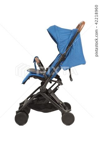 A stroller on a white background, modern design. 42218960