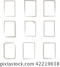 vector, vectors, line drawing 42219638