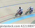 Indoor track cycling 42219897