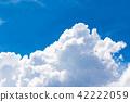 푸른 하늘, 파란 하늘, 여름 42222059