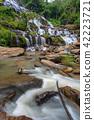 级联 河 岩石 42223721