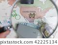 여행지도 - 미국 강조  42225134