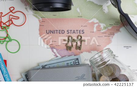 여행지도 - 미국 중심 42225137