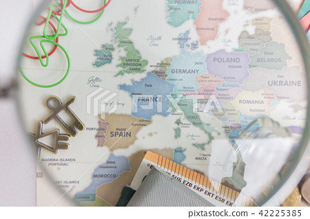 유럽지도 - 프랑스 강조 42225385