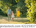 walking, parents, caring 42225837