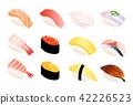 sushi, japanese food, japanese meal 42226523