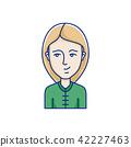 face vector portrait 42227463