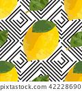 lemon, yellow, seamless 42228690