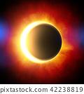 日食 日蚀 太阳 42238819