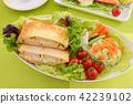 음식, 먹거리, 샌드위치 42239102