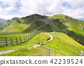 Bikers trail to Schattberg-Ost mountain station   42239524