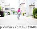 자전거 쇼핑 주부 42239608