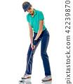 高尔夫 高尔夫球手 女人 42239870