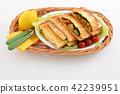 먹음직스러운 샌드위치 42239951
