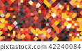 鲜艳细致的浴室/泳池瓷砖特写材质纹理背景,俯视图(无缝接图,高解析度 3D CG 渲染∕着色插图) 42240084