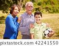 family, senior, child 42241550