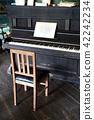 老钢琴椅 42242234