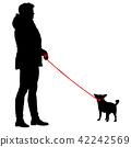 dog woman female 42242569