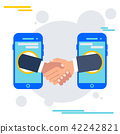deal agreement with mobile device 42242821